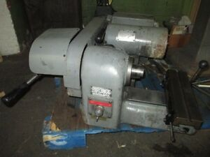 Hardinge Model Hsl 59 Floor Model Super Precision Speed Lathe Nice