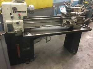 Clausing 12 X 36 Precision Cabinet Lathe Model 5914