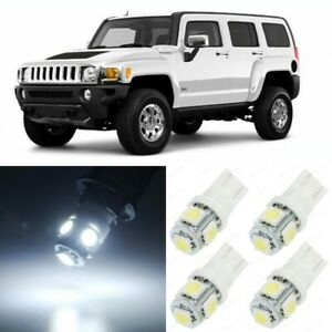9 X Xenon White Interior Led Lights Package For 2006 2010 Hummer H3 Tool