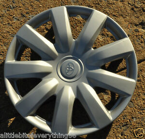 1 New Hubcap Fits Camry 15 Toyota Wheel Cover 2000 2012 Wheelcover Corolla