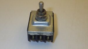 Cutler Hammer Toggle Switch 10a 250vac 15a 125vac 3 position Maintained