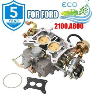 Carburetor Carb 2100 A800 For Ford F150 1964 1978 Engine 289cu 302cu 351cu 2bbl