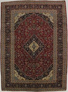 Fantastic Traditional Design Red Vintage Persian Rug Oriental Area Carpet 10x13