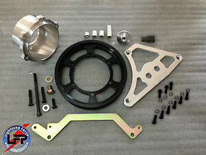 03 04 Ford Cobra Interchangeable Crankshaft Pulley Kit With Stock Pulley Ring