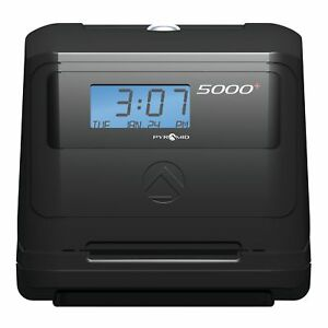 Pyramid 5000 Auto Totaling Time Clock