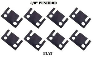 Guide Plates Flat 3 8 Pushrod Push Rod Ford Small Block Guideplate 289 302 351w