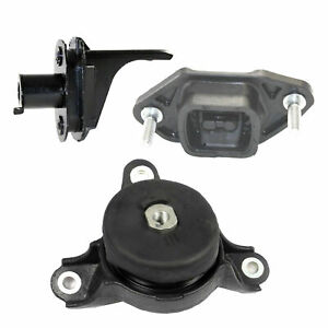 For 2008 2010 Honda Accord Ex Fwd 2 4l Engine Motor Trans Mount Set Of 3pcs