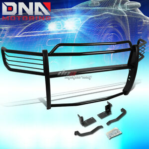For 02 05 Dodge Ram 1500 3500 Chrome Stainless Steel Front Grill Guard Flame