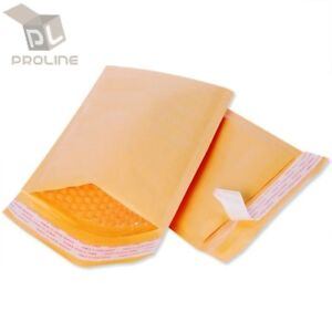 Any Size Kraft Bubble Mailers Shipping Mailing Padded Bags Envelopes Self seal