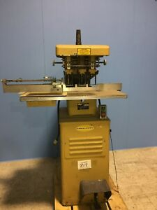Challenge Machinery Eh3a Heavy Duty Hydraulic 3 spindle Paper Drill Hole Punch