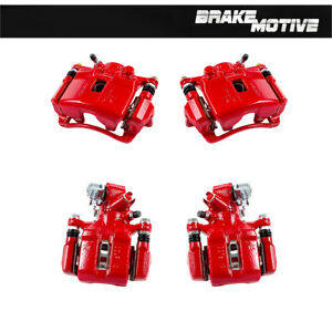Front And Rear Powder Coated Brake Calipers For Acura Rsx Honda Civic Hatchback