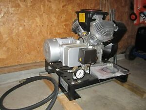 Atlas Copco Air Compressor 230vac 3 9 L s 8 26cfm Model Le2 10cv Bm