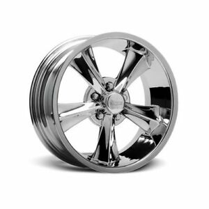 Rocket Racing Booster Chrome Wheel 17 X8 5x4 75 Bc Set Of 2