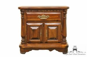 Ethan Allen Antiqued Pine Old Tavern 27 Cabinet Nightstand 12 5116