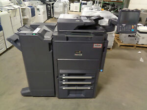 Kyocera Taskalfa 6551ci Color Copier Total Meter 364 Ct