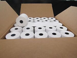 100 Rolls 2 1 4 X 85 First Data Fd130 Fd50 Fd55 Fd100ti Thermal Paper 100rolls
