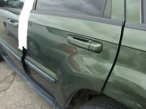 2005 10 Jeep Grand Cherokee Driver Side Left Rear Door Assembly Green Code Pgj
