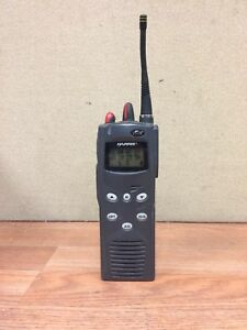 Macom Harris P5100 Radio W antenna Mahm 88dxx Features 1 4 7 8 9 10 23 30