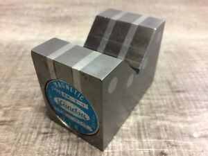 Nice Kanetsu Japan Made Magnetic V Block 2 1 2 X 1 7 8 X 1 1 2
