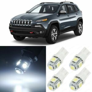 14 X Xenon White Interior Led Lights Package For 2014 2018 Jeep Cherokee Tool