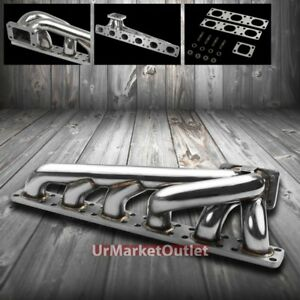 Bottom Mount Ss T3 Turbo Charger Manifold Exhaust For Bmw 98 99 323i L6 M50 M52
