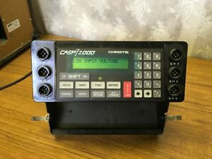 Christie Casp 2000h Battery Analyzer Charger 6 Channel Industrial Military 2000