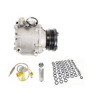Complete Ac Compressor Kit With Clutch For A C 96 00 Honda Civic 97 01 Cr V
