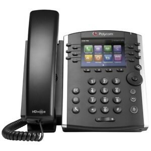 Polycom Vvx 411 Voip Business Media Phone 2201 48450 001 With Ac