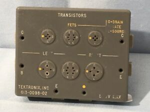 Tektronix 013 0098 02 Curve Tracer Transistor Adapter Tested