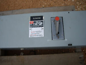 Fpe Fusible Panel Mount Switch Qmqb1036r w2