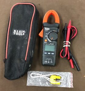 Klein cl210 Digital Clamp Multimeter cat Iii 600v free S