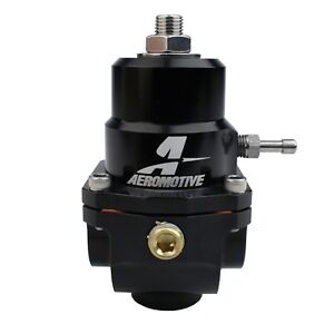 Aeromotive P n 13305 X1 Billet Fuel Pressure Regulator 0 313 Orifice 8an 8an