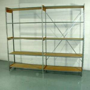Lozier Shelving Backroom Storage Hundreds Of Linear Feet Available