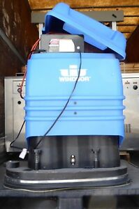 T149680 Windsor Trident Tr24 Battery Floor Scrubber 24v 46a 1 1kw