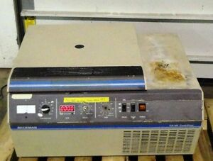 Beckman Benchtop Lab Centrifuge Gs 6r Cs6r With Rotor And Buckets Works Cools