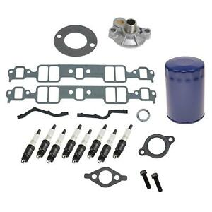 Sbc 327 350 Chevy Summit Racing Gm Crate Motor Basic Install Kit 03 0087
