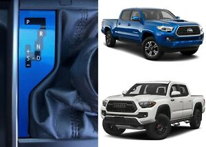 Blazing Blue Pearl Shift Indicator Vinyl Overlay For 2016 2018 Toyota Tacoma New