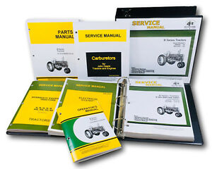 Service Parts Operators Manual John Deere B Bn Bw Bwh Bnh Styled Tractor 201000