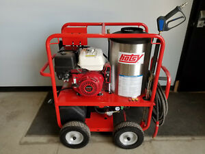 Hotsy Hot Water Pressure Washer Honda Gx390 3 500psi 4gpm 1075sse