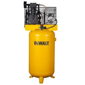 Dewalt 5 Hp 80 Gal Oil lube Vertical Air Compressor Dxcmv5048055 1 New