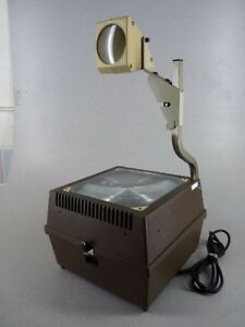 Buhl 90 Overhead Transparency Projector Art office school Free Shipping