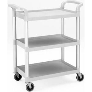 Cambro Gray Utility Service Cart Knocked Down Bc331kd 480