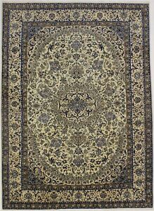 Breathtaking Over Sized Classic Nain Persian Wool Rug Oriental Area Carpet 12x16