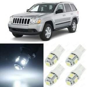 14 X White Interior Led Lights Package For 2005 2010 Jeep Grand Cherokee Tool