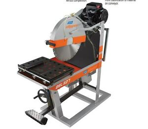 14 Norton Clipper Masonry Saw Bbl527 Electric Blockbuster Baldor 460v 3 Phase