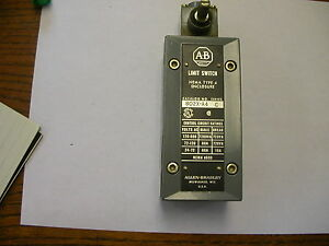 Allen Bradley Watertight Limit Switch 802x a4