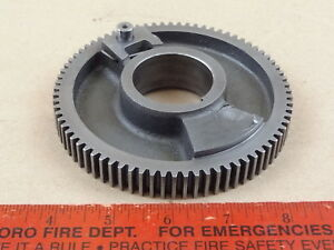 Excellent Original South Bend 9 10k Metal Lathe Headstock Spindle Bull Gear
