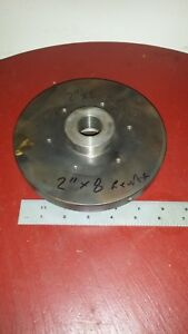 2 Inch By 8 Tpi For Rivett Or Simmular Lathe Back Or Face Or Mounting Plate