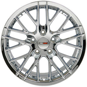17 Wheels For Camaro Firebird Years 1993 2002 17x9 5 Chrome Rims Set 4