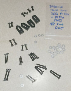 Sherline Hold Down Set lot Of Extra Parts Pn 3012 0605